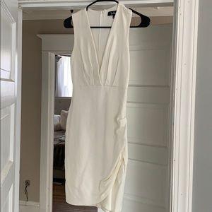 Lulus white, bodycon dress